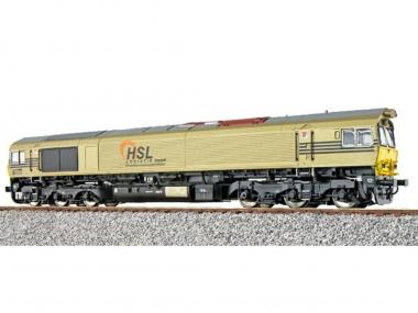 ESU 31285 Diesellok Class 77 HSL Gold Ep VI Sound+Rauch DC/AC Fabrikneu