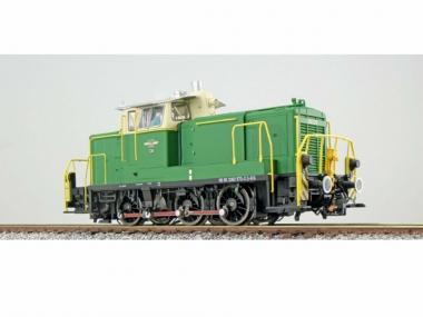 ESU 31424 Diesellok 362 448 grün BE Ep VI Sound+Rauch el. Kupplung DC/AC