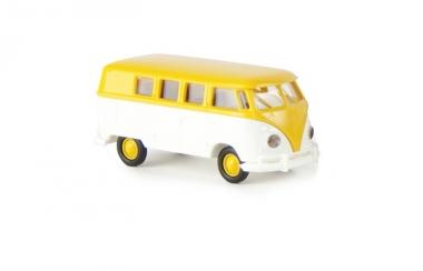 Brekina 31553 VW Kombi T1b gelb-weiß Maßstab 1:87 NEUWARE
