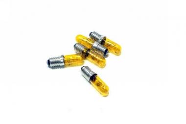 Brawa 3276 5x Kerzenlampe E5,5 19V/50mA gelb H0 Fabrikneu