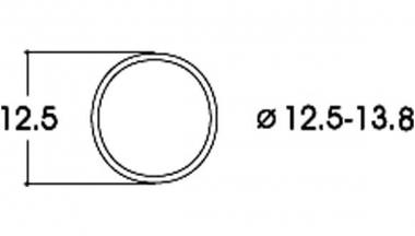 Roco 40066 10x Haftreifen DC 12,5 - 13,8 mm H0 Neuware