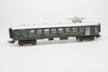 Märklin 4016 Leichtschnellzug-Speisewagen der SBB CFF mit STA 6