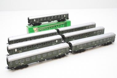 Märklin 4037 7x D-Zug Wagen B4ü 14208 Stg der DB mit Innenbeleuchtung
