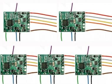 Tams 41-02421-05 Lokdecoder LD-W-32.2 mit Kabel 5-er Pack Neuware