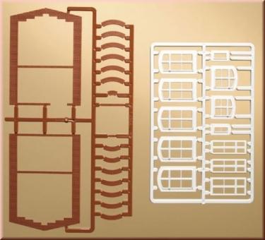 Auhagen 41615 Fensterbögen und Fenster in H0 Bausatz