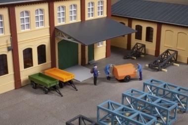 Auhagen 41642 Anhängerset in H0 Bausatz