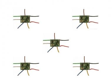 Tams 42-01161-05 Funktionsdecoder FD-R Basic 2 mit Kabel 5-er Pack Neuware