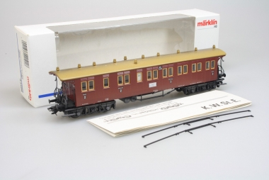 Märklin 42101 Personenwagen 2./3. Klasse der K.W.St.E. in H0 Super Zustand