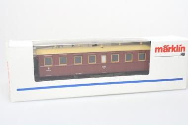 Märklin 4211 Personenwagen 3. Kl. K.W.St.E. unbespielt in Originalverpackung