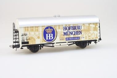 Baur Bierwagen Hofbräu München in H0 gepflegter Zustand