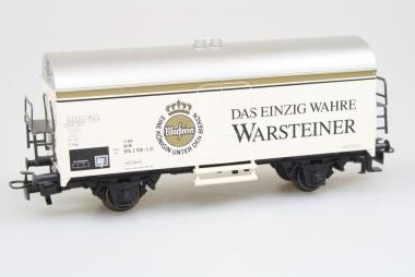 Märklin 4417 Bierwagen Warsteiner der DB in H0 in Originalverpackung
