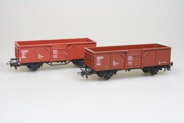 Märklin 4430 2x offener Güterwagen der DB in H0