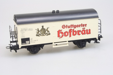 Märklin 4439 Bierwagen Hofbräu H0 DB gepflegter Zustand in Originalverpackung