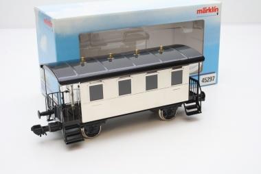Märklin 45297 Personenwagen silber Spur 1 in Originalverpackung