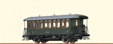 Brawa 45650 Personenwagen Cu 3. Klasse der BBÖ in H0 Gleichstrom Fabrikneu