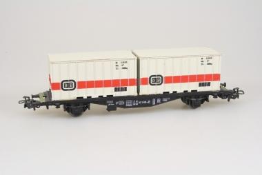 Märklin 4664 Containerwagen Lgjs 598 042 0 606-4 der DB