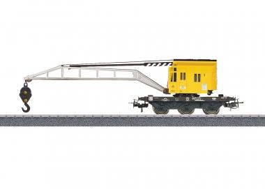 Märklin 4671 Kranwagen gelb der DB in H0 Fabrikneu