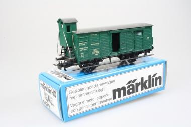 Märklin 4679 gedeckter Güterwagen Nm 700 303 der K.W.St.E. in Originalverpackung