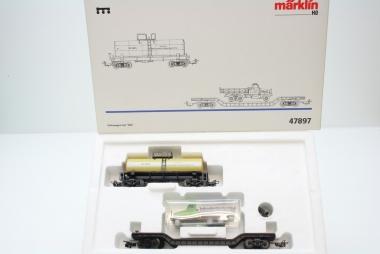 Märklin 47897 Güterwagenset 3-teilig der SZD Neuware in Originalverpackung