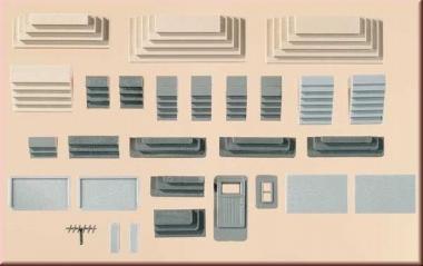 Auhagen 48646 17 verschiedene Treppen in H0/TT Bausatz