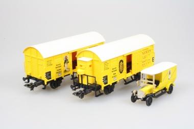 Märklin 4876 Wagenset Bananentransport H0 in Originalverpackung