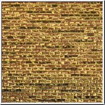 Auhagen 50101 50501 Pappe regelmäßiges Mauerwerk in H0/TT Fabrikneu