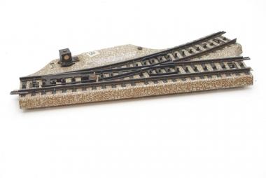 Märklin 5118 M-track point left unboxes