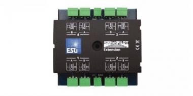 ESU 51801 SwitchPilot Extension Schalt- und Weichendecoder Fabrikneu