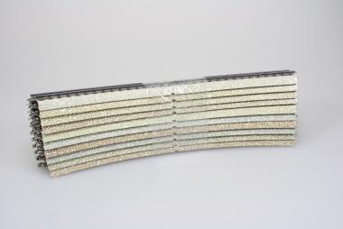 Märklin 5200 10x gebogenes M-Gleis 30° 437,4 mm Top Zustand