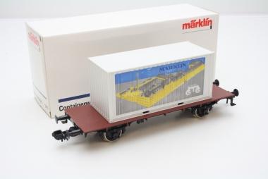 Märklin 5411 Containerwagen Spur 1 in Originalverpackung
