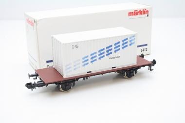 Märklin 5412 Containerwagen Spur 1 in Originalverpackung