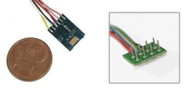 ESU 54683 Lokpilot micro V4.0 MM/DCC/SX 8-Pol NEM 652 mit Kabel Fabrikneu