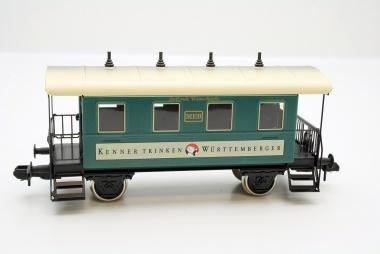 Märklin 54718 Personenwagen Kenner trinken Württem. Spur 1 in Originalverpackung