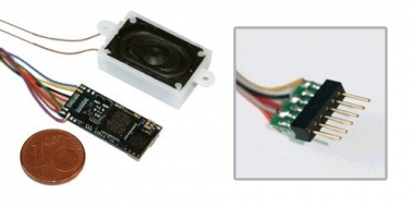 ESU 55800 Loksound micro V4.0 PluX 12 Kabel mit Wunschsound Neuware