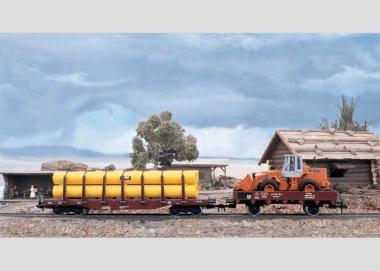 Märklin 54954 Rungenwagen mit Ladung Spur 1 in Originalverpackung