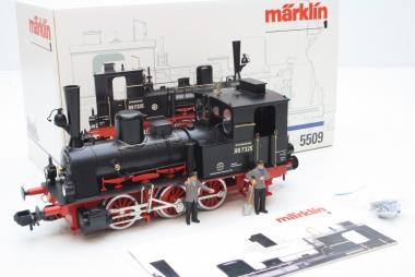 Märklin 5509 Dampflok Br. 89 der DB Spur 1 unbespielt in Originalverpackung