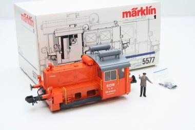 Märklin 5577 Diesellok Köf II TM 34 Mandarinli SOB Spur 1 unbespielt in OVP