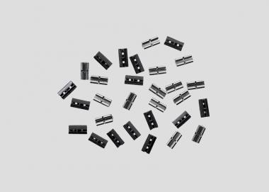 Märklin 56091 2x 15 Isolierlaschen+Schienenverbind. Spur 1 in Originalverpackung