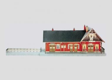 Märklin 5615 Bahnhof Altmühlhof Spur 1 Bausatz in Originalverpackung