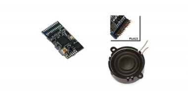 ESU 56497 Loksound V4.0 Universalgeräusch zum Selbstprogrammieren PluX22 Neuware