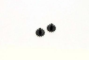 Fleischmann 567106 2x Zahnrad Z=14 M0,4 - schwarz N Ersatzteil Fabrikneu