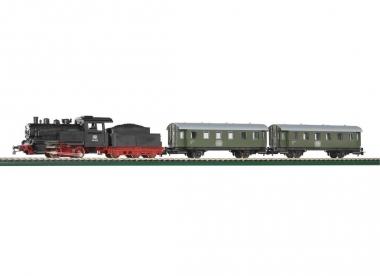 Piko 57110 Startset Personenzug Dampflok mit Tender in H0 Fabrikneu
