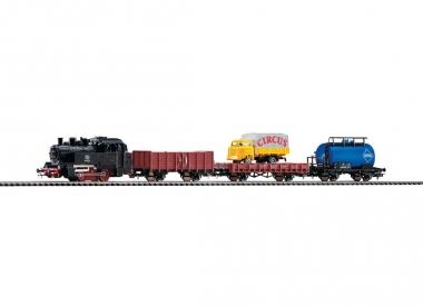 Piko 57111 Startset Güterzug mit Dampflok in H0 Neu