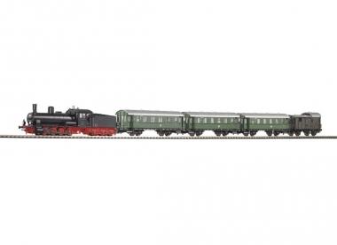 Piko 57121 Startset Personenzug Dampflok G7.1 mit 4 Personen in H0 Fabrikneu