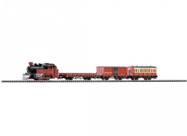 Piko 57140 Startset Western Zug Dampflok mit 3 Wagen in H0 Farbikneu