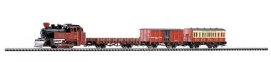 Piko 57140 Startset Western Zug Dampflok mit 3 Wagen in H0 Neu