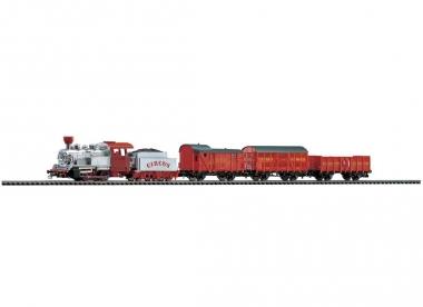 Piko 57145 Startset Zirkus Zug Dampflok mit 3 Wagen in H0 Fabrikneu