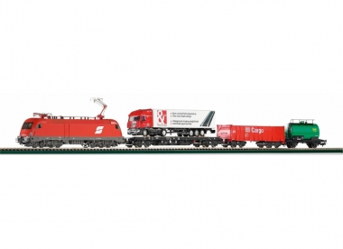 Piko 57170 Start-Set E-Lok ÖBB Taurus + 3 Güterwagen in H0 Fabrikneu