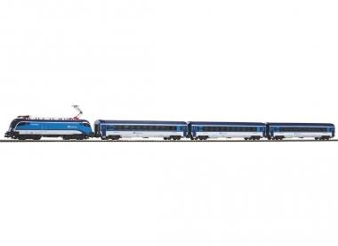 Piko 57173 Start-Set Rail Jet CD in H0 Fabrikneu