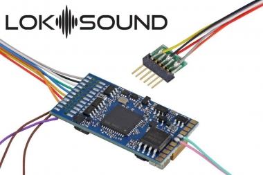 "ESU 58416 Loksound 5 DCC/MM/SX/M4 ""Leerdecoder"", 6-pin NEM651 Fabrikneu"